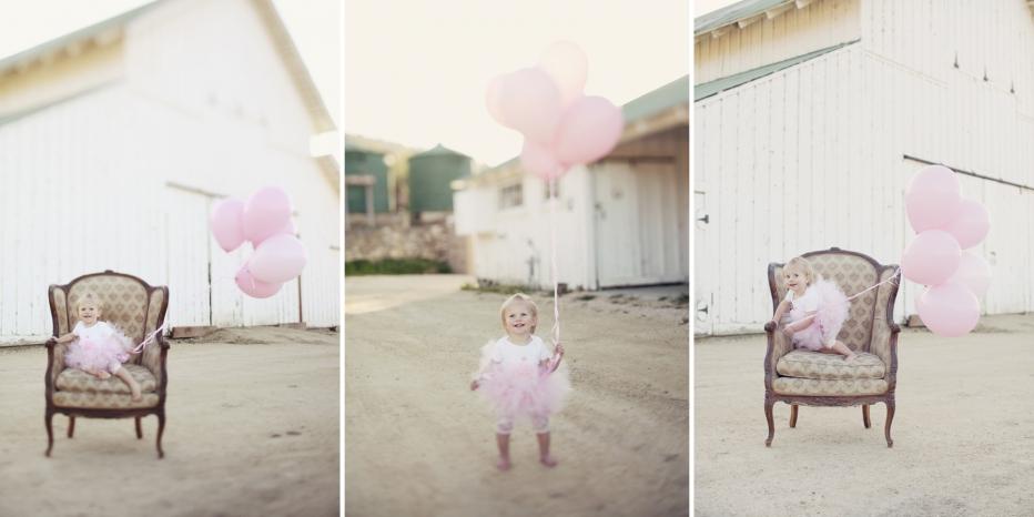 Children Portraits, Ballons, Carmel Barn, Carmel Portraits