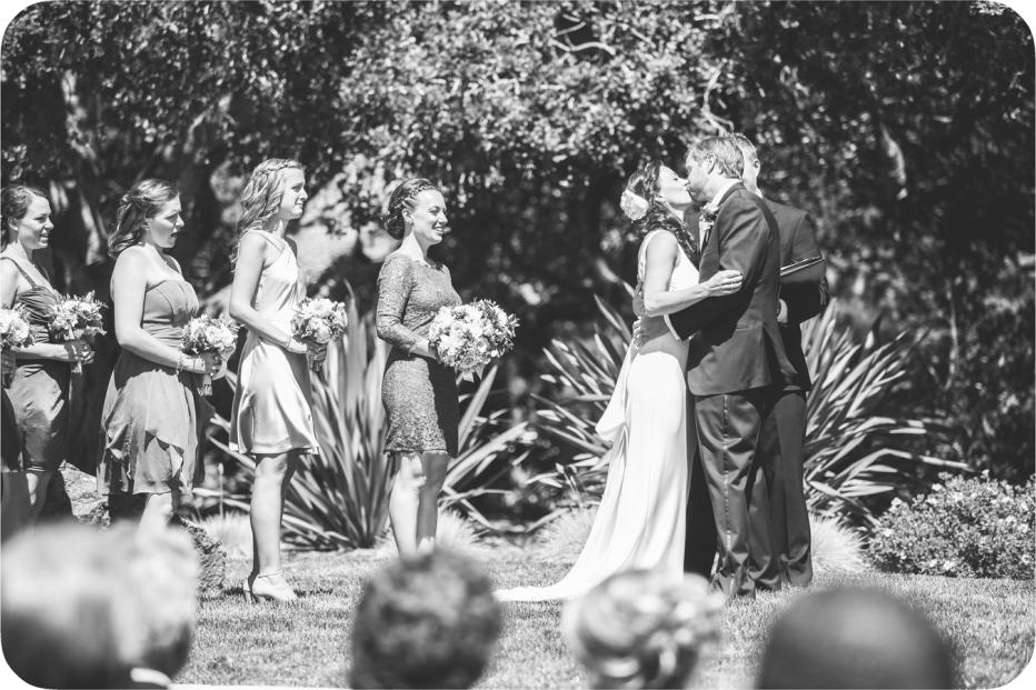 Kissing, Ceremony, Carmel Valley