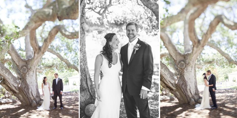 Wedding, Couple, Carmel Valley, Oak Tree