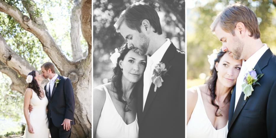 Carmel Valley, Wedding, Couple, Oak Tree
