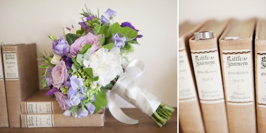 Flowers, Rings, Vintage, Rustic
