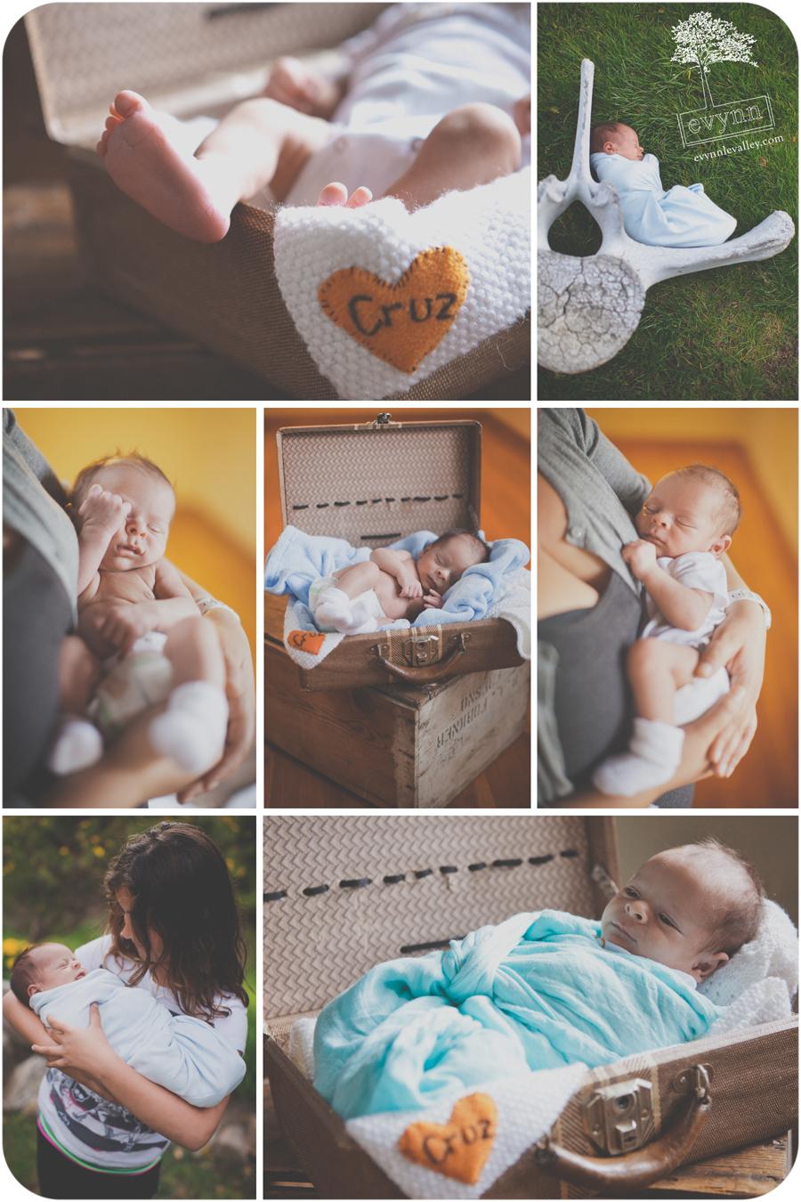 Big Sur, Newborn, Photography, Baby, Portrait, Vintage, Outdoors