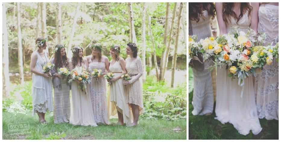 Big Sur Bridesmaids, Big Sur Wedding, Big Sur Florist, Bohemian Big Sur Wedding, Rustic Wedding