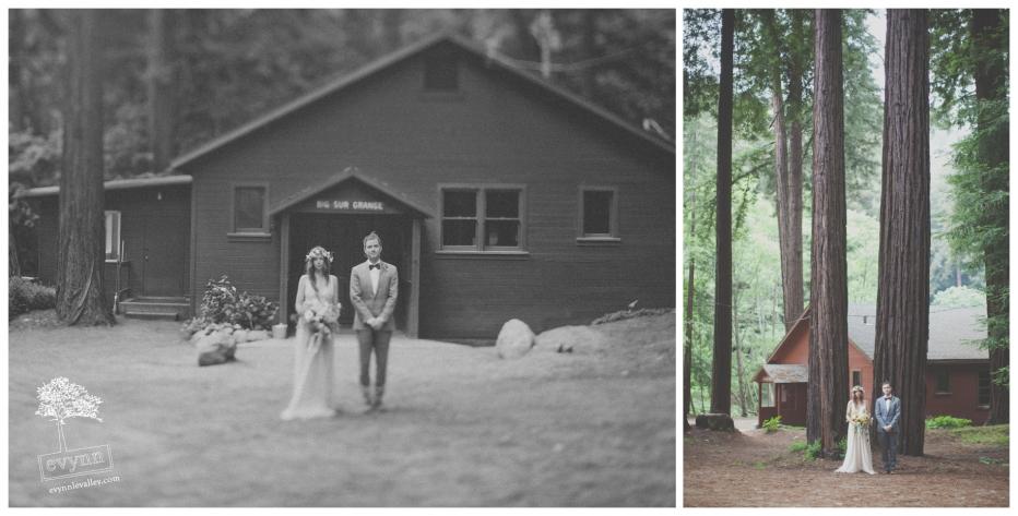 Big Sur Wedding Venue, Grange Hall, Redwood Wedding, Big Sur Wedding Photos