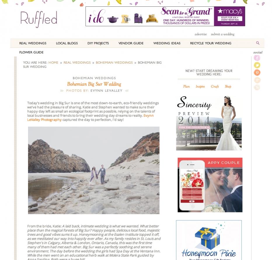 Big Sur Wedding, Rustic Wedding, Pfeiffer Beach, Big Sur Bakery, Big Sur Wedding Photography, Redwood Ceremony