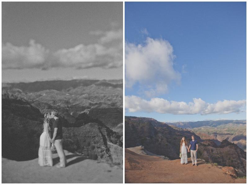 Waimea Canyon, Hawaii, Kauai, Wedding, Elopement