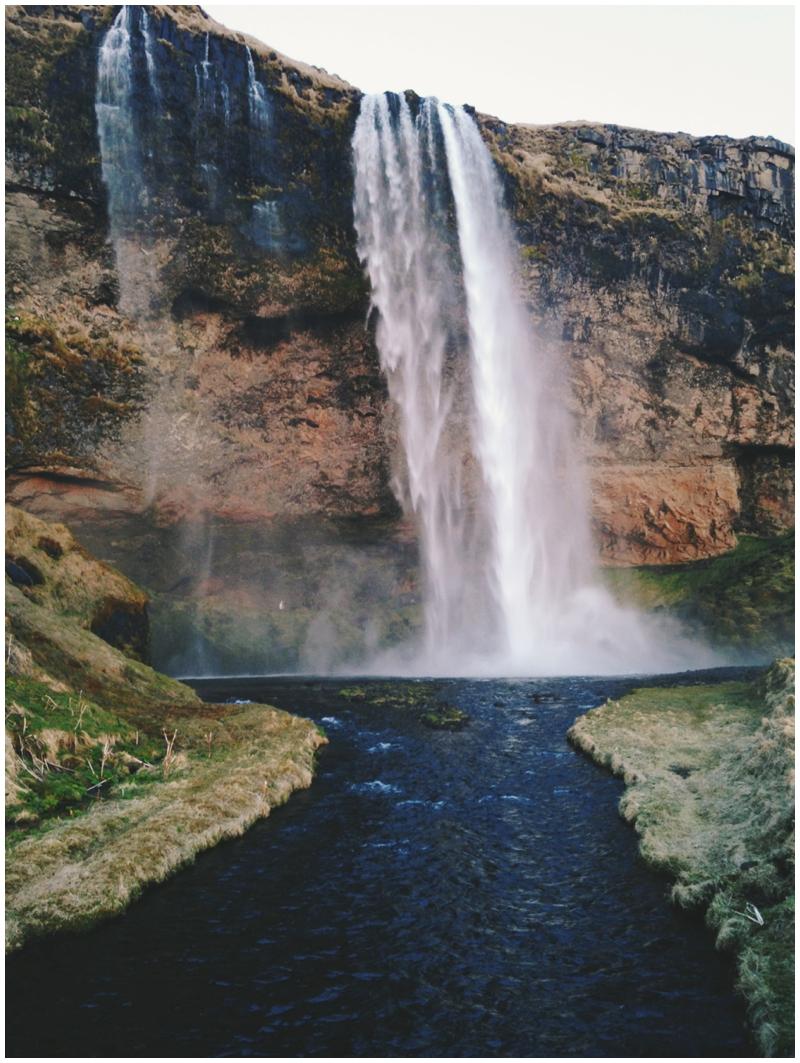 Iceland,VSCOcam, VSCO, Waterfall