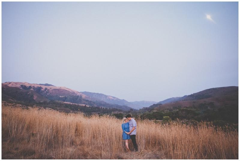 Big Sur, Meadow, Engagement, Elopement