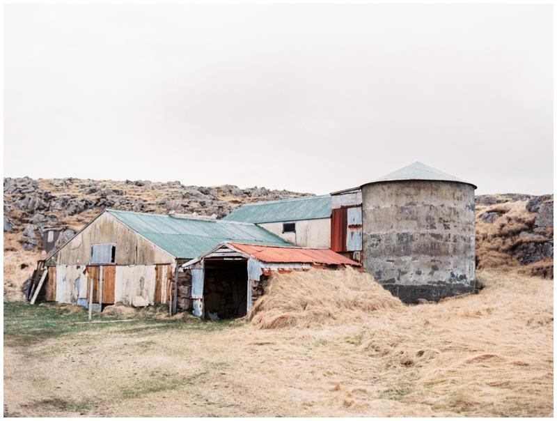 Iceland, Barn, Fine Art