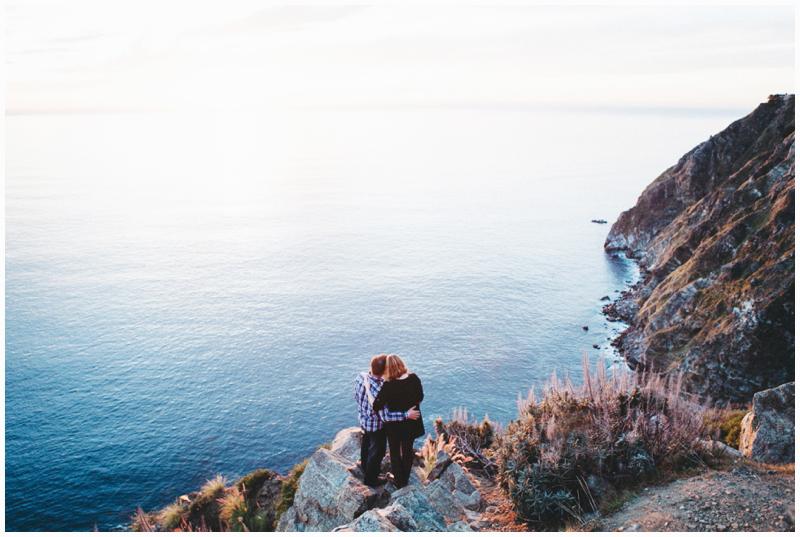 Big Sur, Engagement, Elopement, Cliffisde, Oceanview