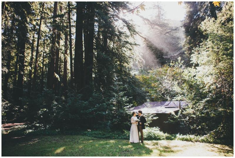 Glen Oaks, Big Sur, Elopement, Wedding, Redwoods, Forrest