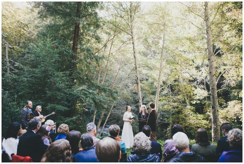 Glen Oaks, Big Sur, Wedding, Trees, Woods, Forrest, Venue
