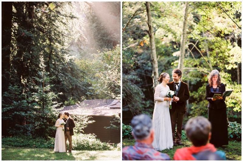 Big Sur, Glen Oaks, Forrest, Wedding