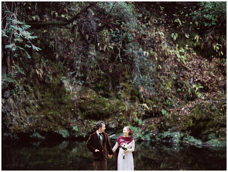 Glen Oaks, Big Sur, Forrest, River, Wedding