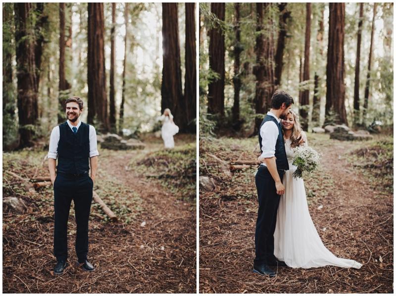 Redwood Wedding, Big Sur, Glen Oaks, Elopement