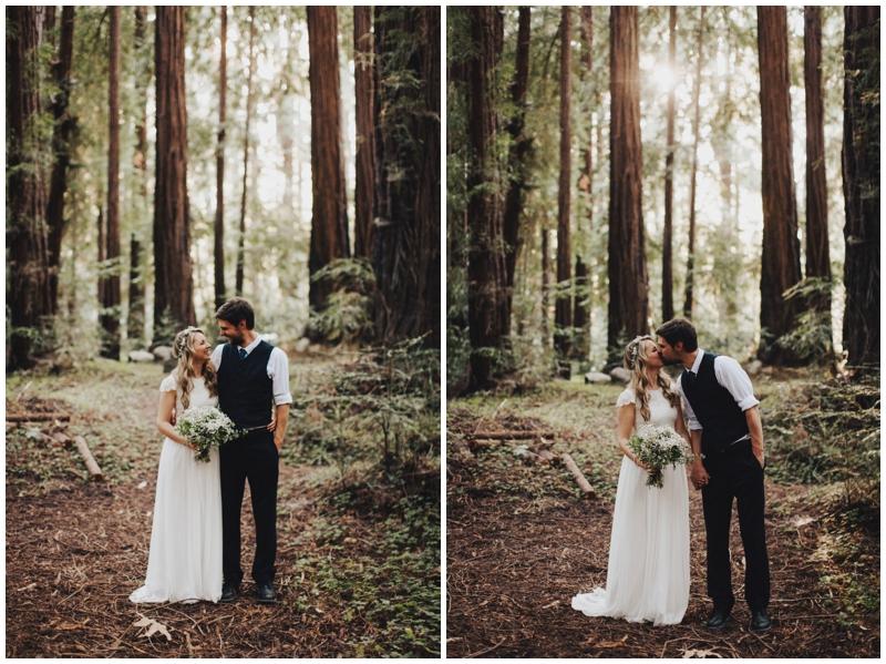 Big Sur, Redwood, Ceremony, Wedding, Forest,