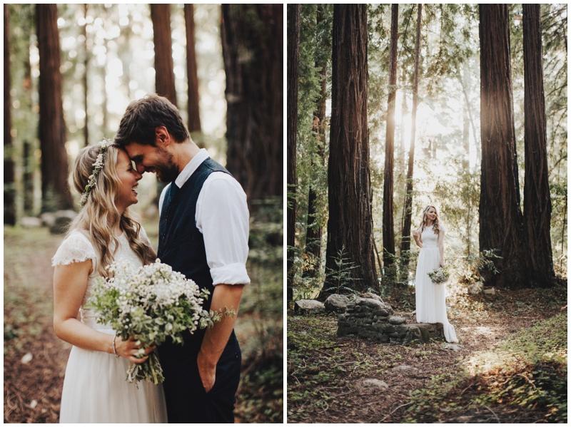 Forest, Wedding, Elopement, Big Sur