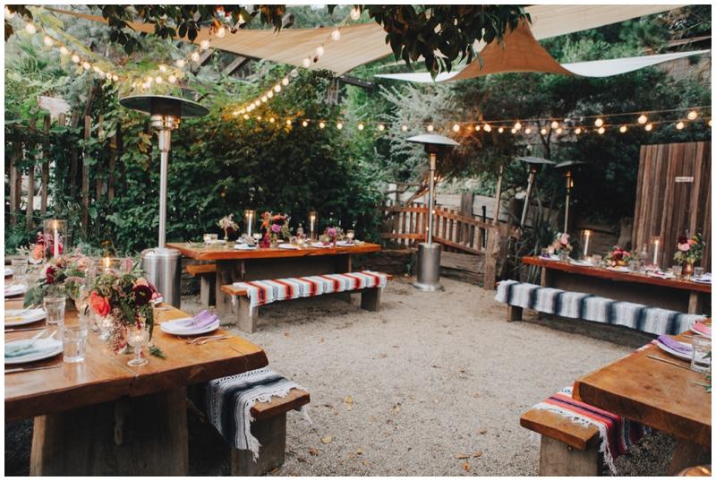 Big Sur Bakery, Wedding, Reception, Patio