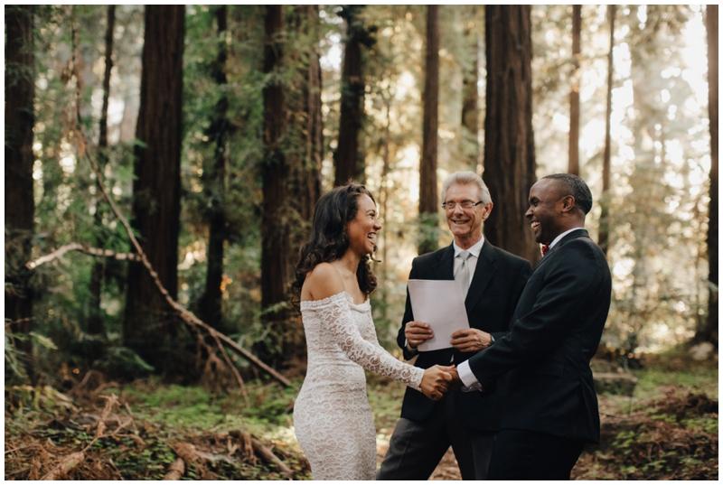 Wedding, Laughter, Carmel, Forrest, California, Redwoods
