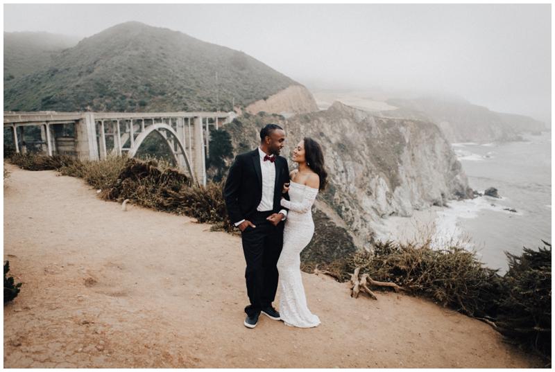Bixby Bridge, Big Sur, Elopement, Wedding